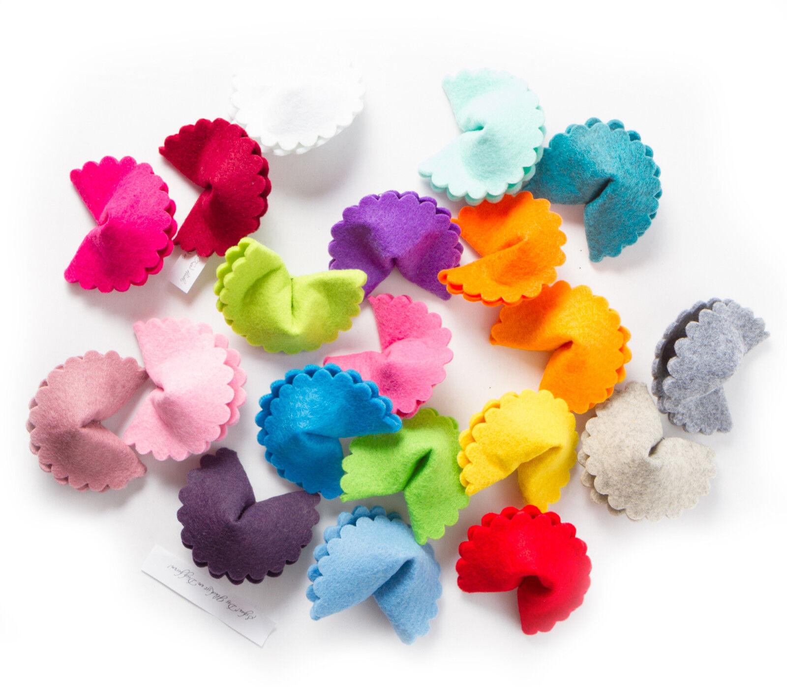 scallop gl ckskekse aus filz in 34 verschiedenen farben. Black Bedroom Furniture Sets. Home Design Ideas