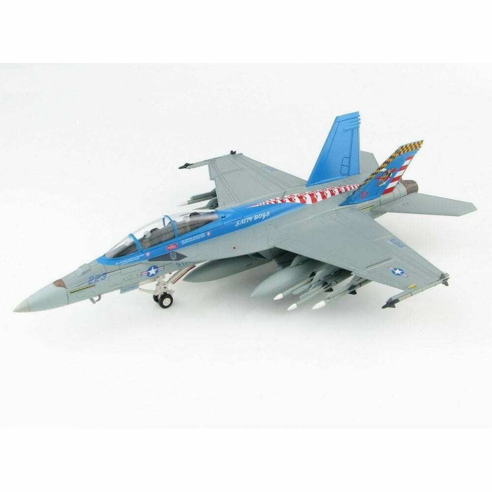 HOBBY MASTER HA5112 1 72 F A-18F S Hornet USN VX-23 Salty Dogs - Patuxent River