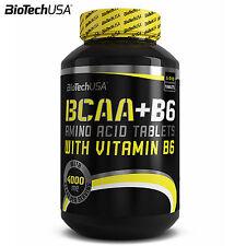 BioTech BCAA + B6 100 Tablets Branched Chain Amino Acids Anabolic Anticatabolic