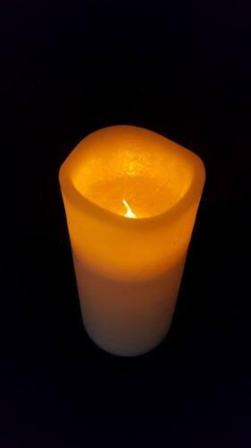 Led cire blanche comme église bougies 3 tailles mariage événements home decor