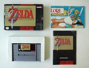 Details about The Legend of Zelda: A Link to the Past- (SNES) - Complete  game W/ Map