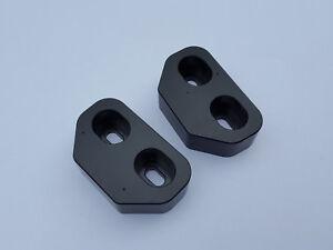 Image is loading Miata-Door-Bushings-CNC-Delrin-Machined-Set-of- & Miata Door Bushings - CNC Delrin Machined - Set of 2 - New 1990 ...