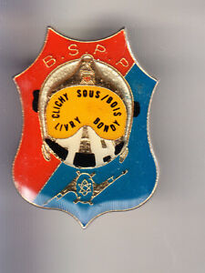 RARE-PINS-PIN-039-S-POMPIER-FIRE-CLICHY-LIVRY-BONDY-SPP-PARIS-75-CJ