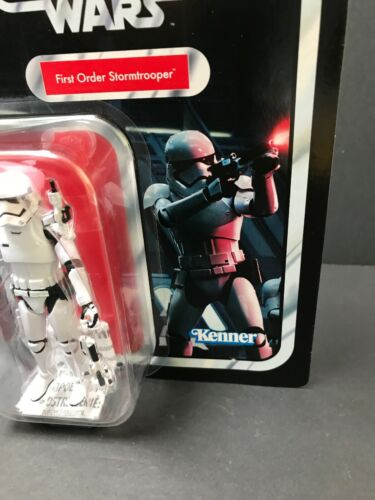 "STAR Wars Collezione Vintage primo ordine Stormtrooper 3.75/"" action figure Kenner"