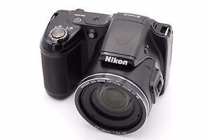 nikon coolpix l820 16 0 mp digital camera black no accessories