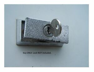 Coleman Fleetwood Step Door Lock Key 1101x Ebay
