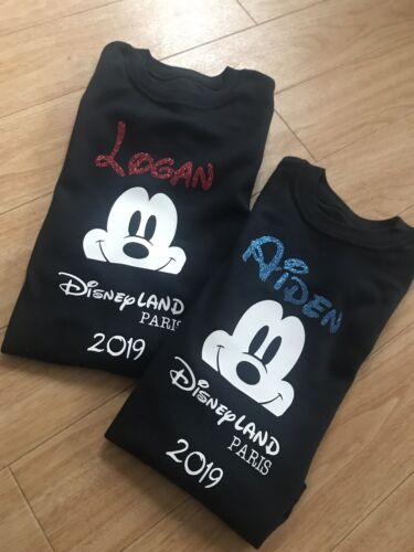 I Can't Keep Calm Im Going To Disney Boys Girls Tshirt Top Outfit Aged 7-8 Years