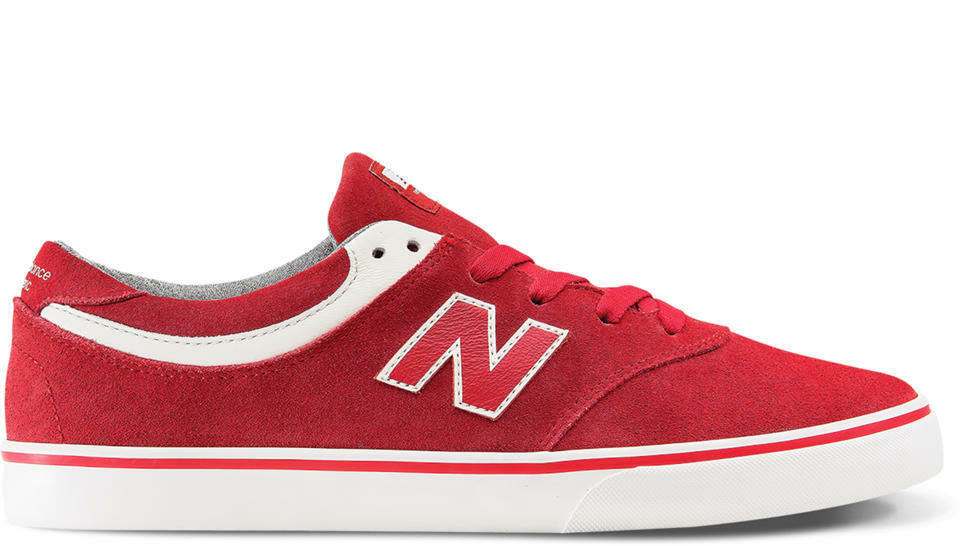 MENS NEW BALANCE NUMERIC QUINCY 254 SKATEBOARDING SHOES TEAM RED SEA SALT  (TRS)