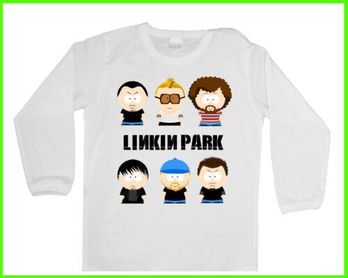 LINKIN PARK 1 FUN ROCK Jungen//Mädchen LANGARM BABY//KID//TODDLER T-Shirt//Blusen
