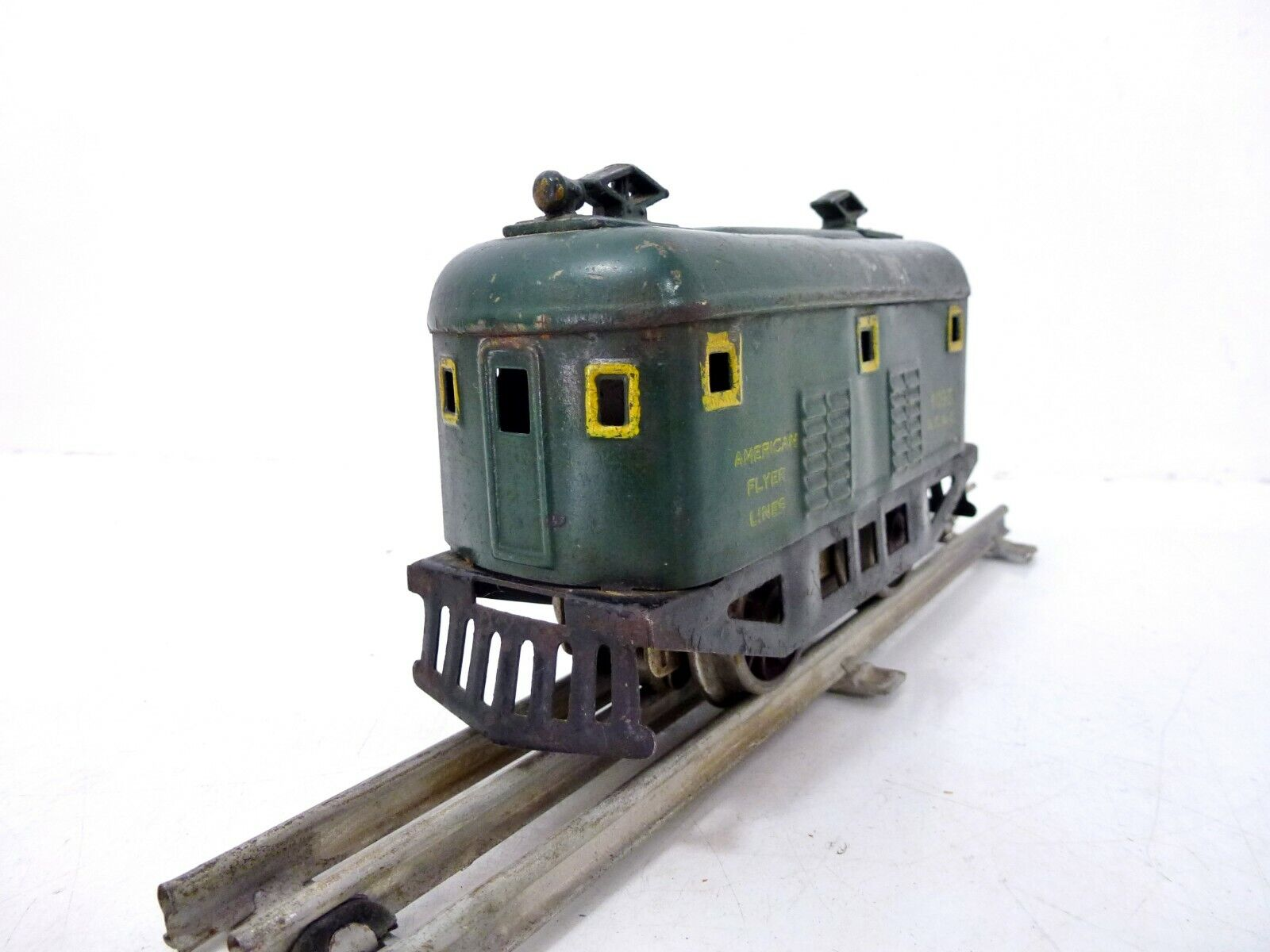 American Fliegener E-Lok el. Betrieb  30er Jahre Spur 0 passend zur Märklin Bahn