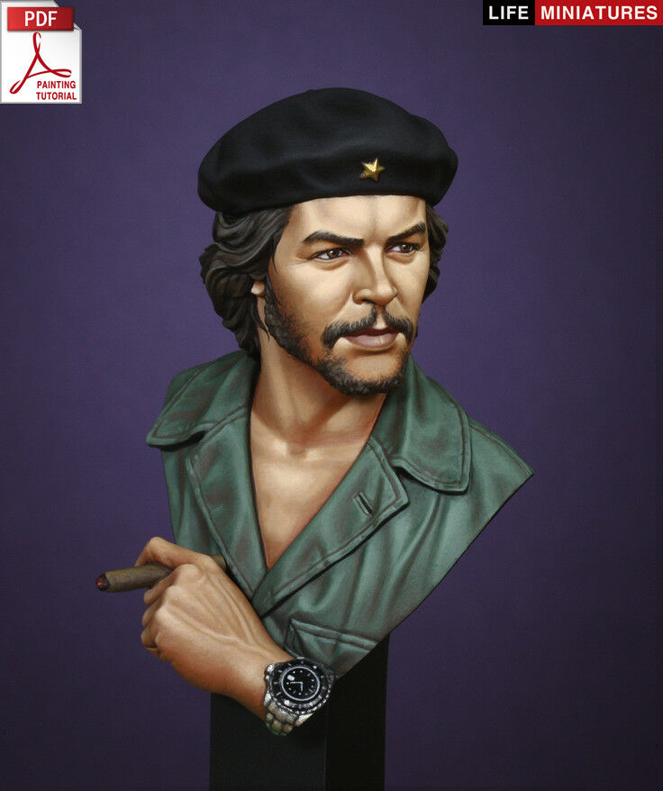 Life Mins Che Guevara 1 10th Bust Unpainted kit