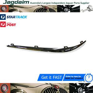 New-Jaguar-S-Type-Front-Bumper-Blade-Chrome-Trim-Left-Hand-XR87629