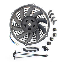 """ACP 9"""" Universal Pull Radiator Cooling Fan Curved Blades Replacement Unit"""