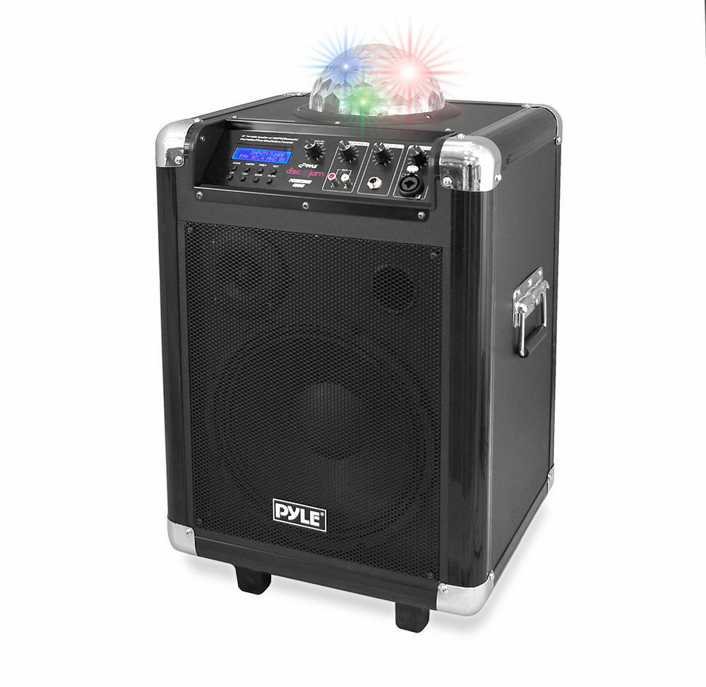 Pyle PCMX280B Disco Jam 400 Watt Blautooth 10'' Portable PA Speaker System