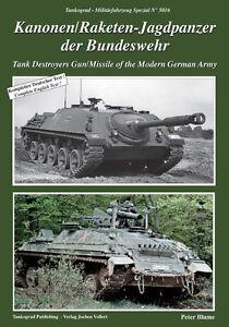 5016 Kanonen/Raketenjagdpanzer der Bundeswehr, Tankograd, NEU& - Erftstadt, Deutschland - 5016 Kanonen/Raketenjagdpanzer der Bundeswehr, Tankograd, NEU& - Erftstadt, Deutschland