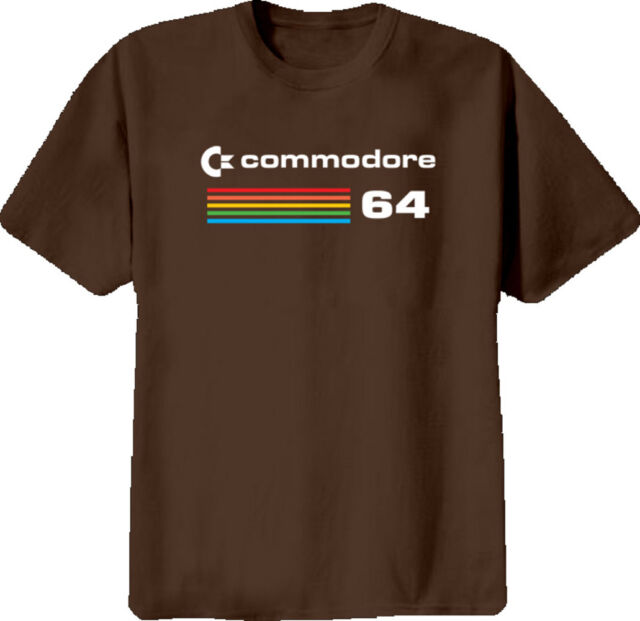 Commodore 64 Retro Computer T Shirt