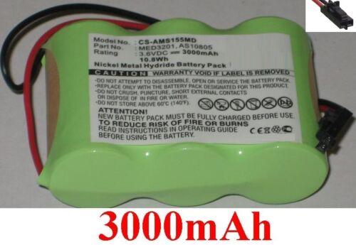Batterie 3000mAh Pour WELCH-ALLYN type 72250