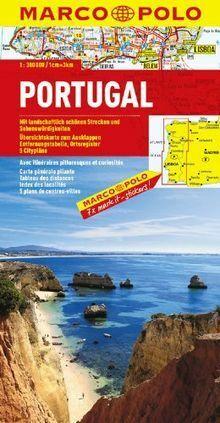 MARCO POLO Länderkarte Portugal 1:300.000: Mit landschaf...   Buch   Zustand gut