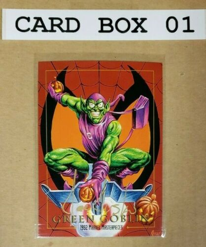 PROMO 1992 MARVEL MASTERPIECES CARD SET SELECT SIGNED JOE JUSKO U CHOOSE