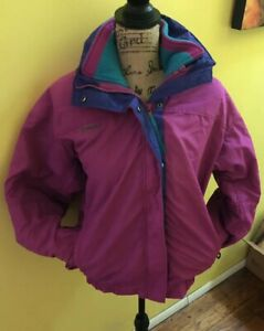 In Bugaboo Coat Lilla Sz Vintage Usa 3 Women's 1 Heavy Large Columbia Ski Warm qRvcEU1v