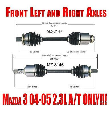 SurTrack MZ-8105 CV Axle Shaft