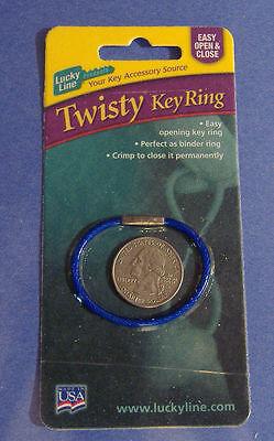 Key Ring,No 71101 LUCKY LINE PROD INC
