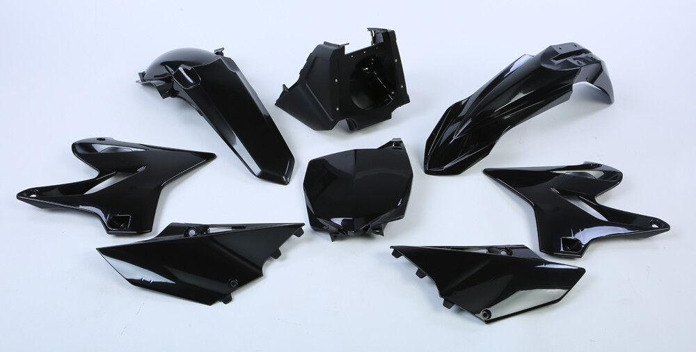 250 2002-2019 Black 90718 Polisport MX YAMAHA Restyle Plastic Kit YZ 125