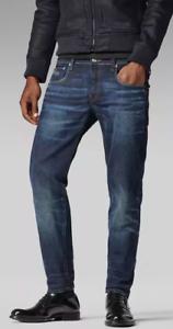 G-STAR-Raw3301-a-Sigaretta-Jeans-Vintage-Scuro-Invecchiato-W30-L32-REF57-2