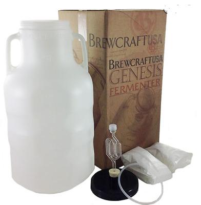Genesis Fermenter 6 5 Gal Homebrew Beer Wine Moonshine PET Carboy No  Cleanup | eBay