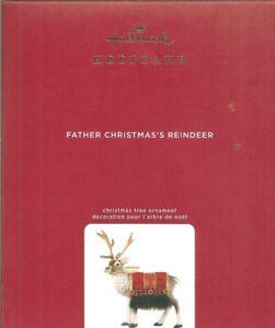 Father Christmas Reindeer 2020 Hallmark 2020 Father Christmas Reindeer Limited Edition Ornament