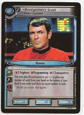 Star Trek CCG These Are The Voyages RARE 12R56 B/'Elanna Torres Chief Engineer