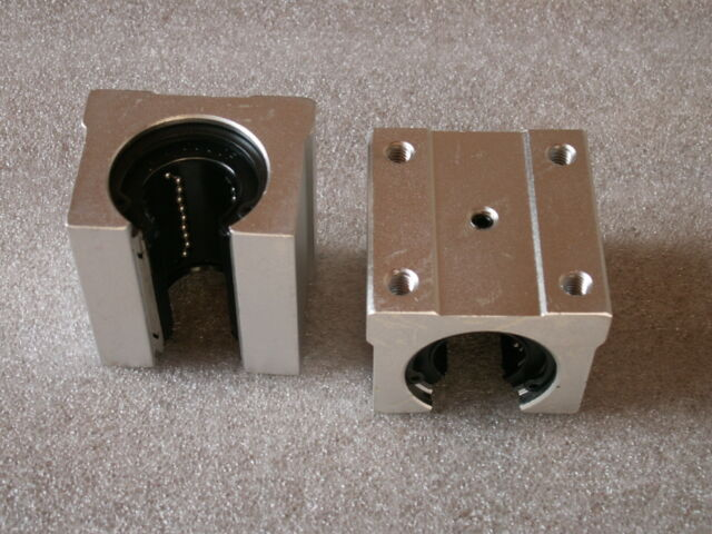 4 bearing pillow blocks SBR16UU with LM16UU for CNC linear slide guide rail