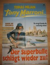 Der Superbulle schlägt wieder zu - KINOPLAKAT A1 - Tomas Milian als Tony Marroni