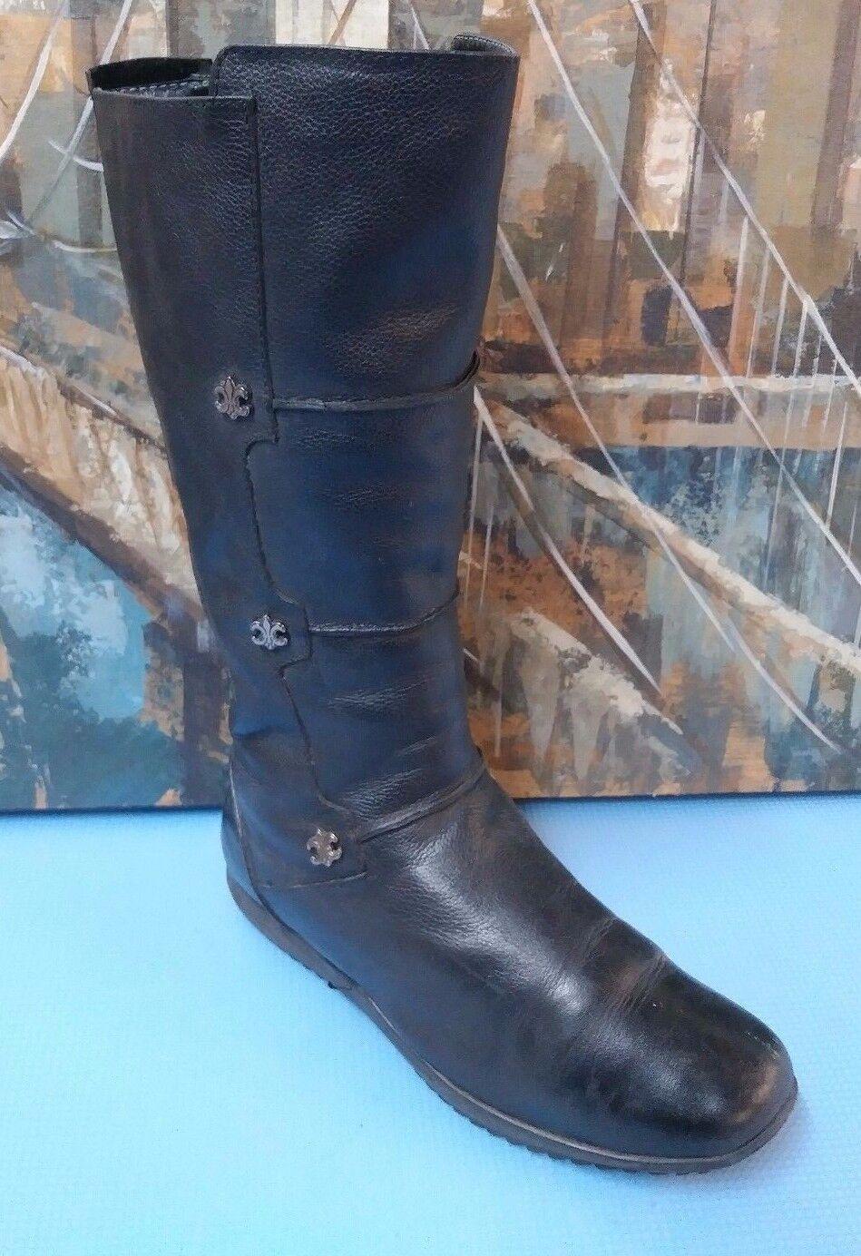 noir EL Tempo 93487 Dressage Zip femmes bottes 7.5 38
