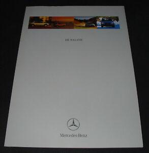 Auto-Prospekt-Mercedes-M-Klasse-W-163-Stand-November-1997