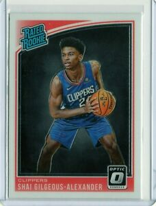 SHAI-GILGEOUS-ALEXANDER-Clippers-2018-2019-DONRUSS-OPTIC-RATED-ROOKIE-162