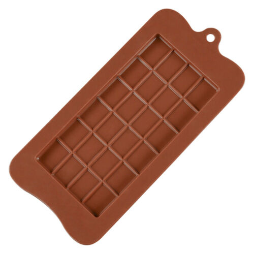 6X4 Cells Non-Stick Chocolate Bar Candy Professional Silicone Mould Mold