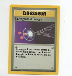 Pokemon-n-81-102-Dresseur-Sauvegarde-d-039-Energie-A5687