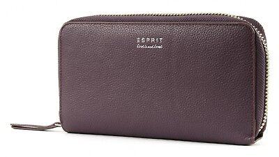 Esprit Shoulderbag Wallet Portafoglio Clutch Borsa A Tracolla Berry Purple Viola-mostra Il Titolo Originale