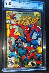 WEB-OF-SPIDER-MAN-97-1993-Marvel-Comics-CGC-9-8-NM-MT