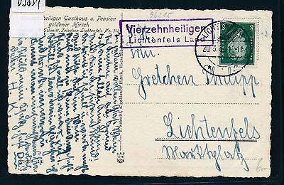 03831 Landpost Ra2 Viezehnheiligen Lichtenfels Land Ak 1931 Modische Muster