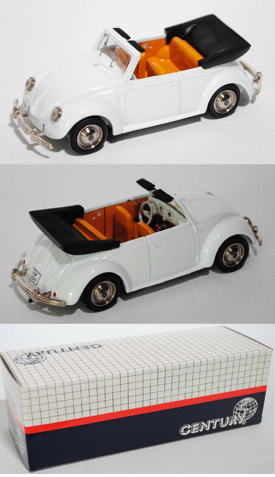 Century 1502 VW BEETLE 1200 CABRIOLET modèle 1950, neuf dans sa boîte
