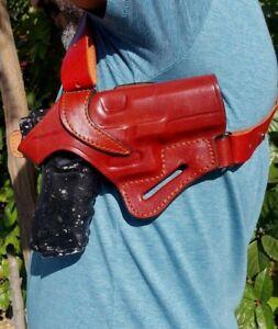 Leather-Shoulder-and-Owb-Holster-Choose-Gun-Model-amp-Color