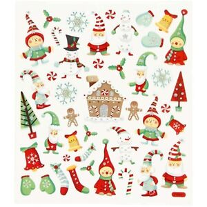 Christmas Stickers.Details About Fancy Christmas Stickers Gingerbread