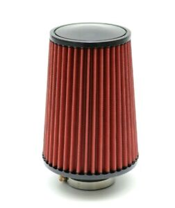 "1320 Performance 4/"" Universal air filter cone reusable black air filter"