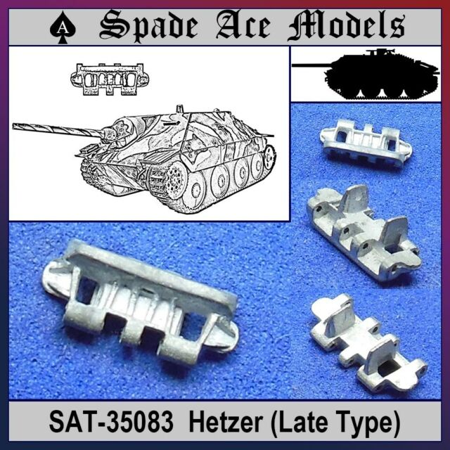 Spade Ace 1/35 35083 Metal Track Hetzer Late Type