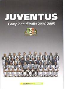 2005 FOLDER CALCIO JUVENTUS CAMPIONE DI CALCIO 2004 - 2005 - Italia - 2005 FOLDER CALCIO JUVENTUS CAMPIONE DI CALCIO 2004 - 2005 - Italia