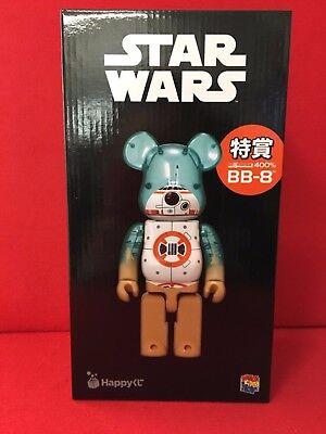 Medicom 400/% Bearbrick Happy Kuji Star Wars Be@Rbrick Spezial BB-8 Japan Neu