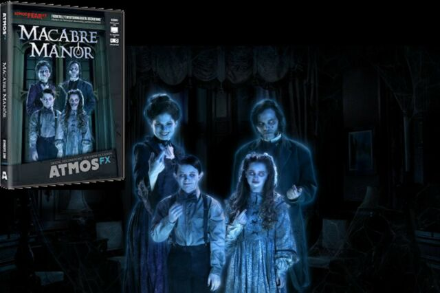 macabre manor atmosfearfx digital halloween projection effects dvd haunted house