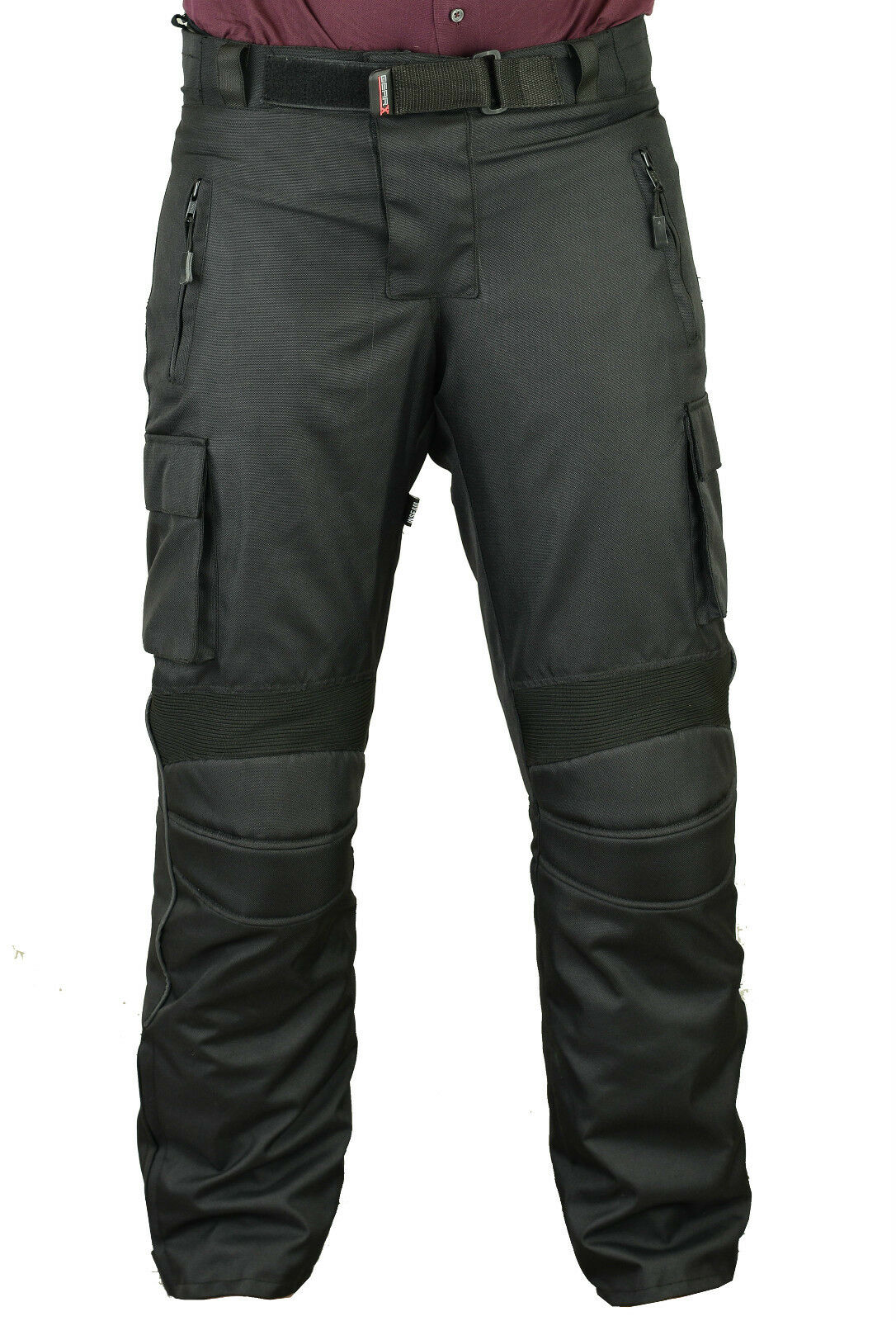 GearX Waterproof Motorbike Motorcycle Trousers Mens Protective Pants